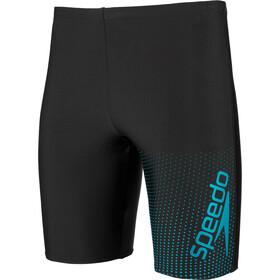 speedo Gala Logo Jammers Herren black/aquasplash